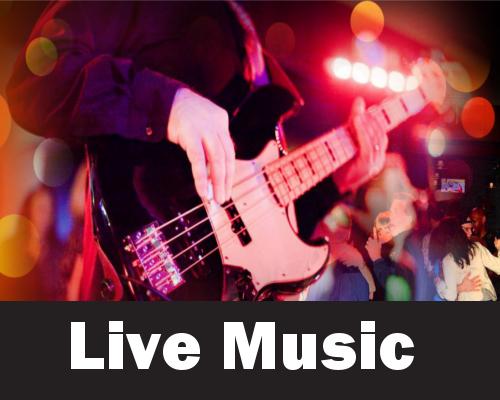 Live Music Homepage